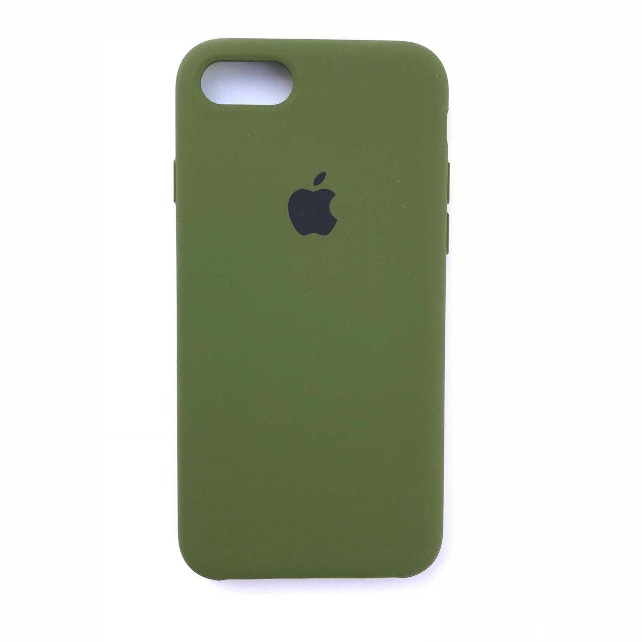 Чехол-накладка Silicone Case для Apple iPhone 7 iPhone 8 Pinery Green