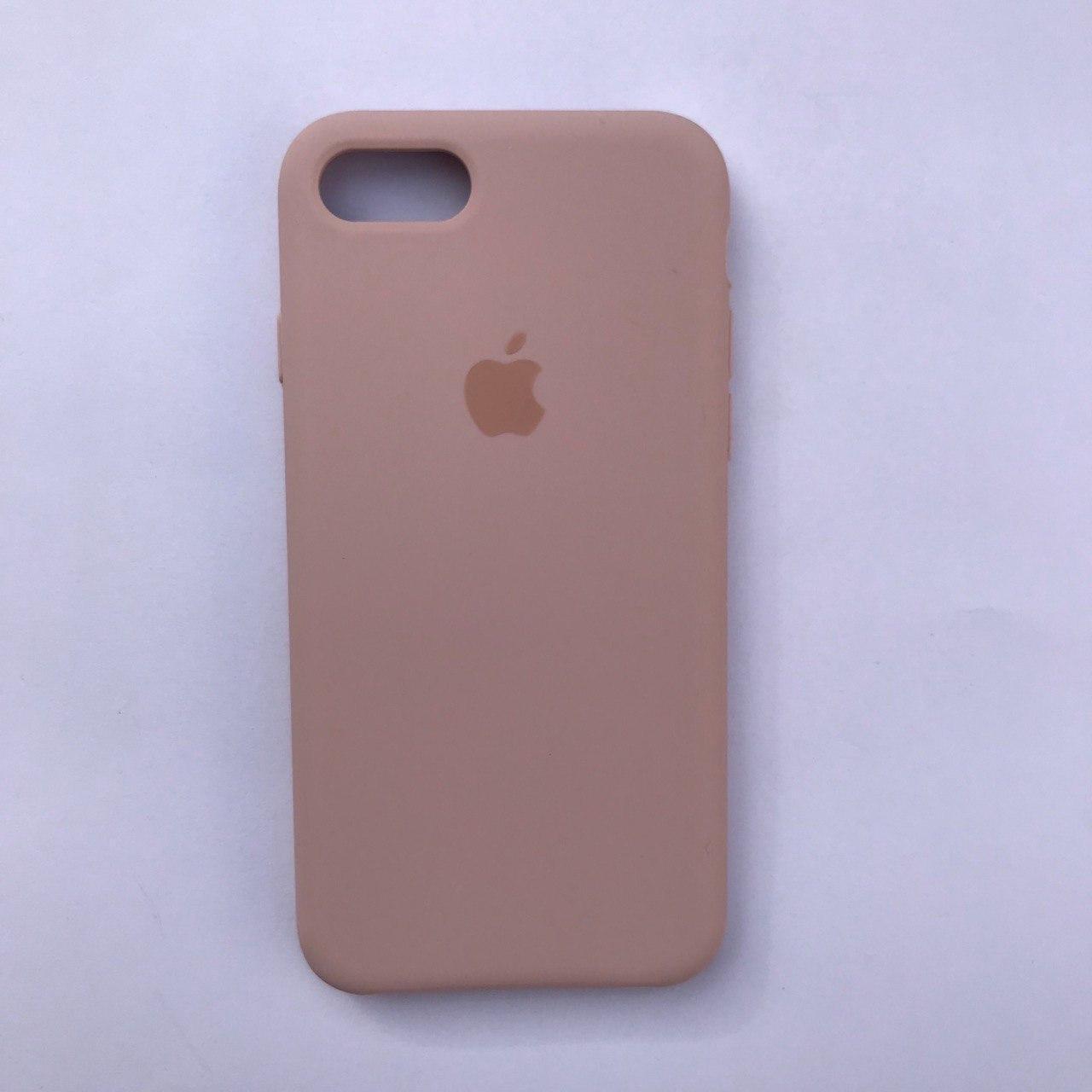 Накладка Silicone Case ARM для Apple iPhone 7 iPhone 8 Pink Sand