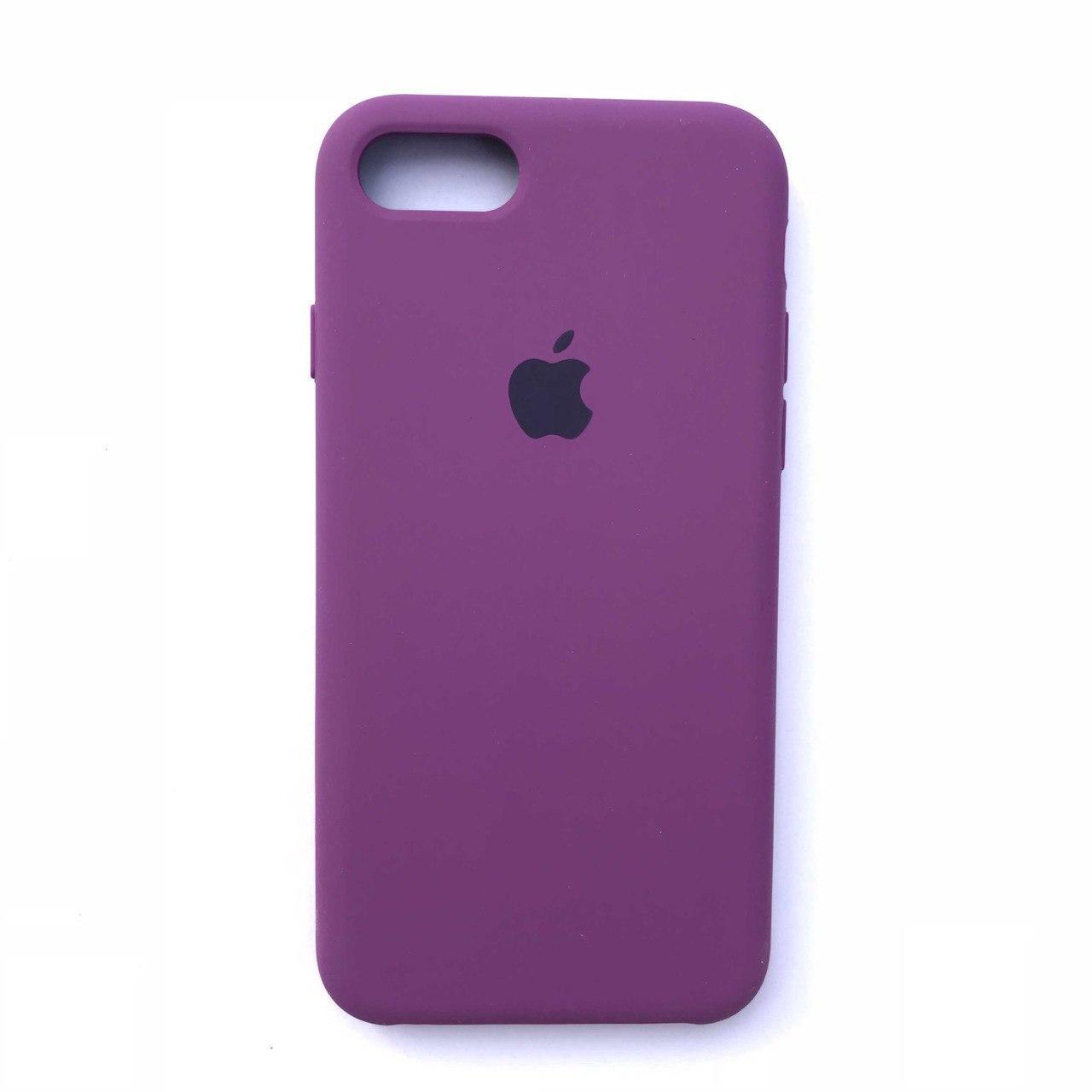 Чехол Silicone Case для Apple iPhone 7, 8 Purple