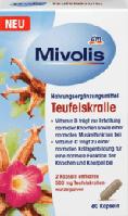 Mivolis Teufelskralle Kapseln Коготь дьявола, африканское средство для укрепления мышц и суставов 60 шт