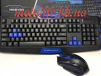 Бездротова ігрова клавіатура usb миша. Бездротовий набір клавіатури і миші keyboard hk 8100