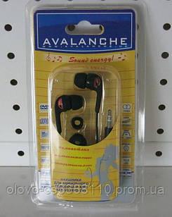 """Наушники Avalanche MP3-281 черные с розовым""""Акционная цена"""""""