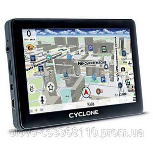 "GPS Навигатор СYCLON ND 500 (5,0"", 128Mб опер., 4Гб внутр. пам., MSTAR MSB2531, 12 мес гарантия)"