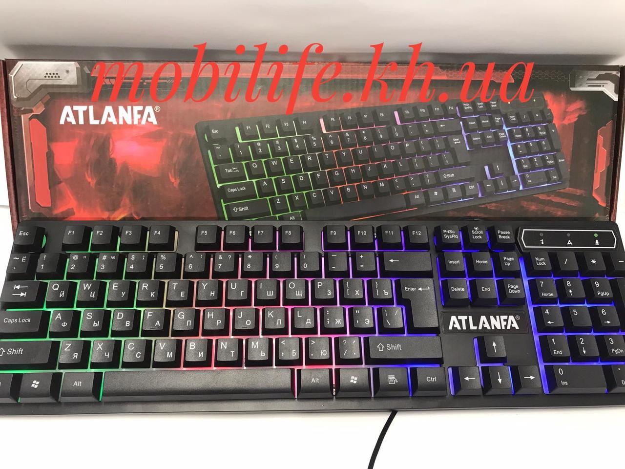 Игровая профессиональная клавиатура | usb проводная компьютерная клавиатура CNV KR 6300 с подсветкой