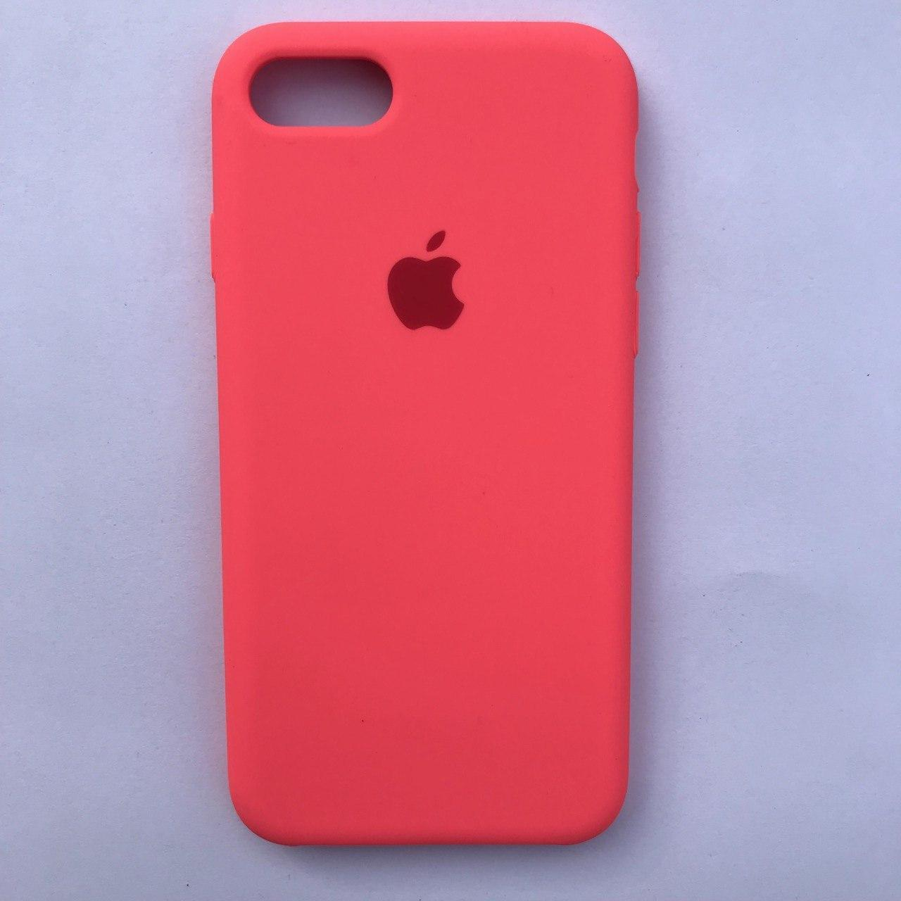 Чехол Silicone Case для Apple iPhone 7, 8 Sweet Pink
