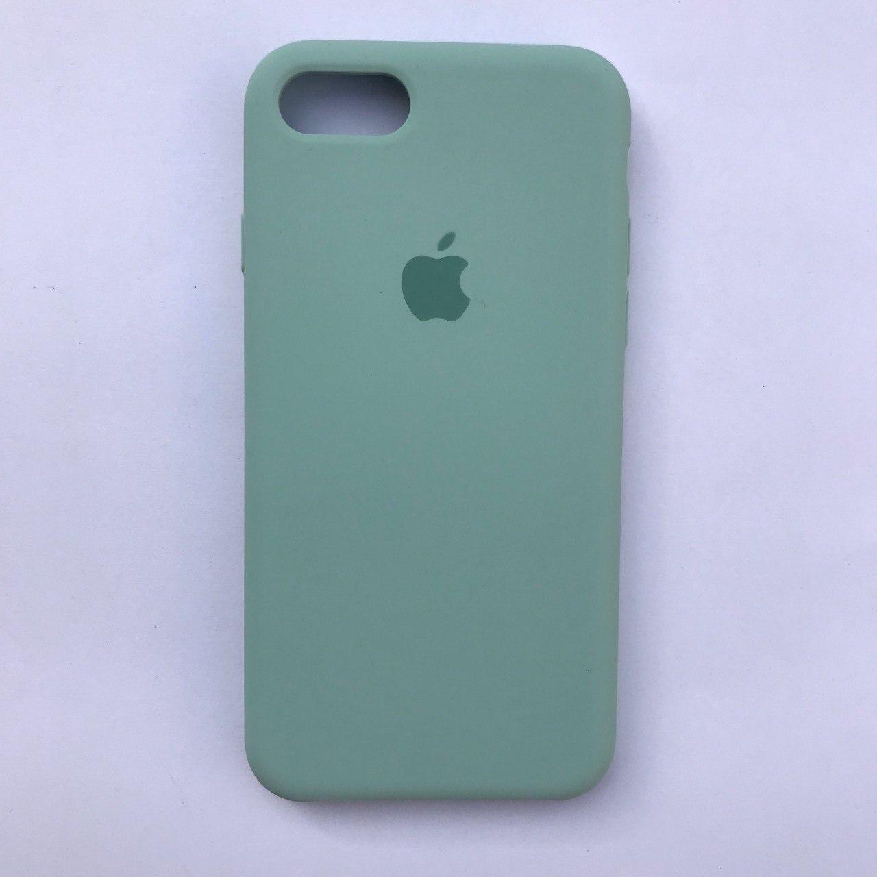 Чехол-накладка Silicone Case для Apple iPhone 7 iPhone 8 Turquoise
