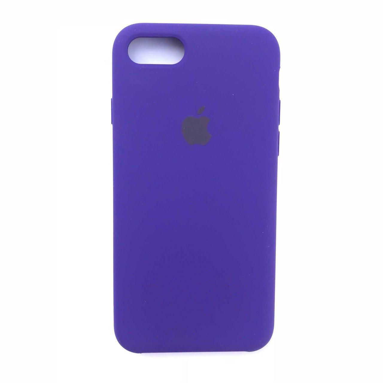 Чехол-накладка Silicone Case для Apple iPhone 7 iPhone 8 Ultra Violet