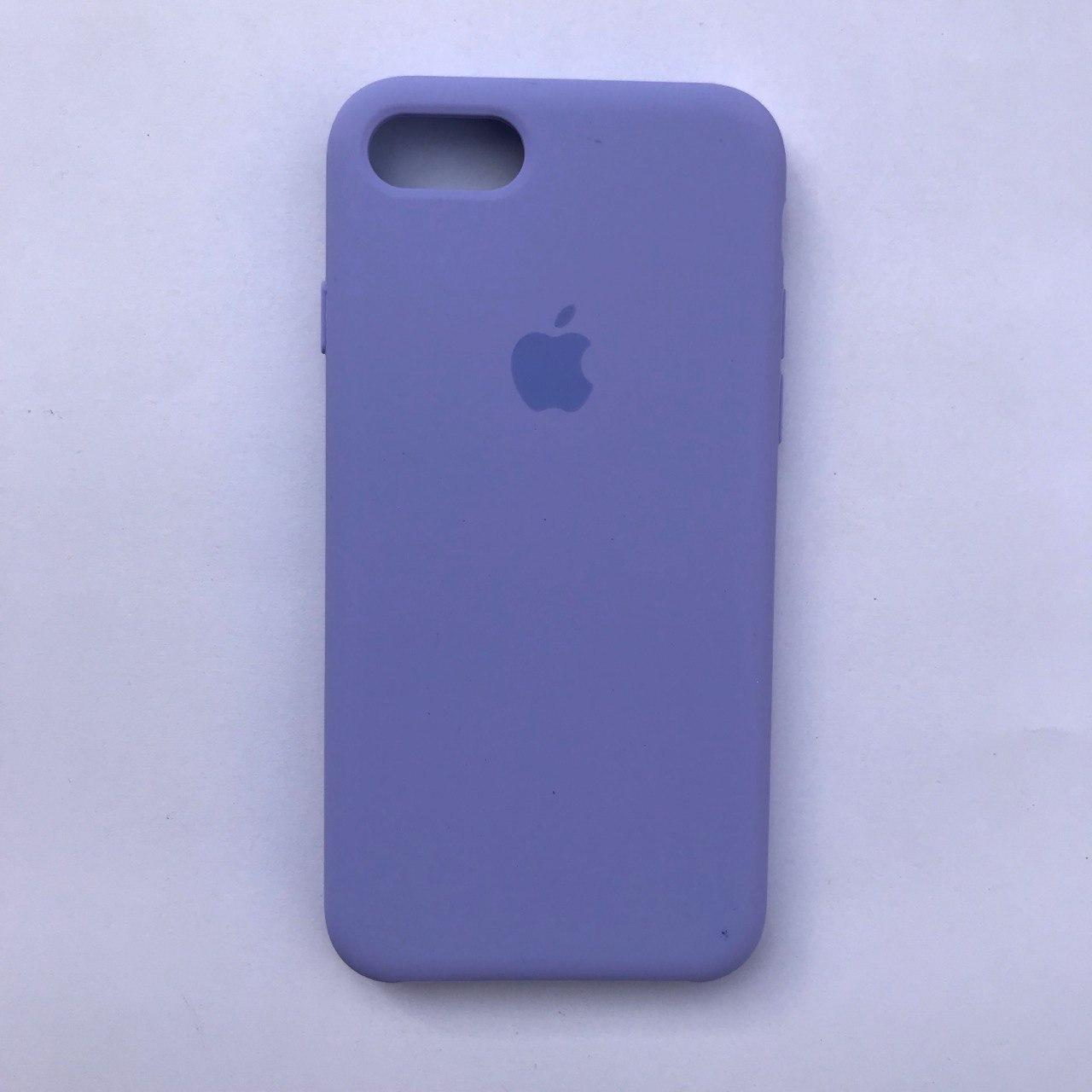 Чехол Silicone Case для Apple iPhone 7, 8 Viola