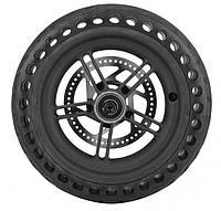 Диск задний с бескамерной шиной и тормозным диском для самоката M365 и M187