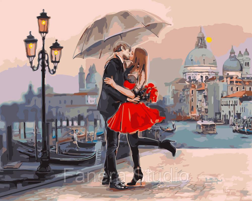 Картина за номерами 40х50 см Пара у Венеції