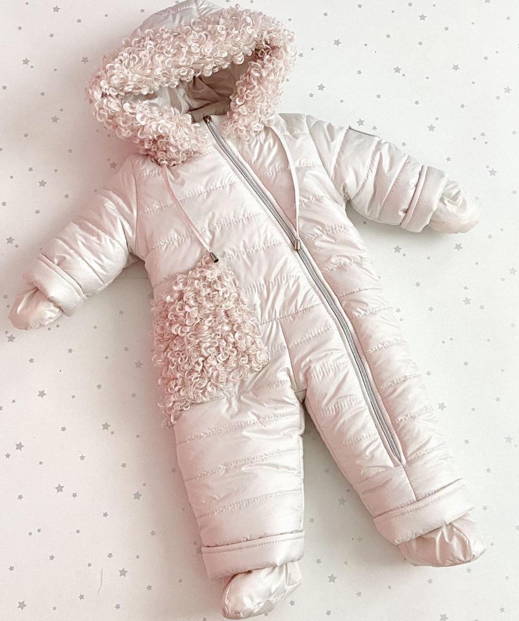 Дитячий зимовий комбінезон (на зріст 68 см)