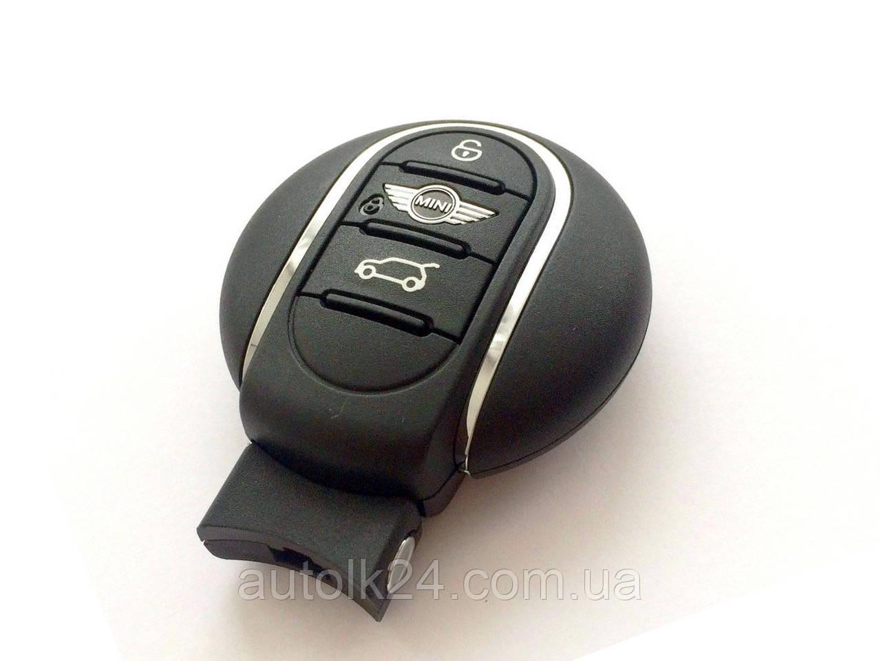 Смарт ключ MINI Cooper 3 кнопки 434mhz (Оригинал)