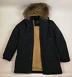 Мужская зимняя куртка мех, фото 9