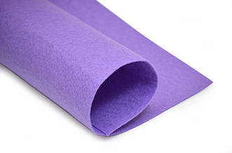 Фетр листовой, фиолетовый, 2мм