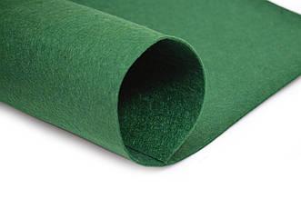 Фетр листовой, зеленый, 2мм