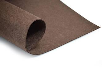 Фетр листовой, коричневый, 2мм