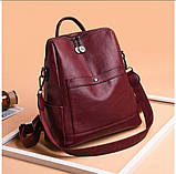Сумка женская рюкзак, фото 4