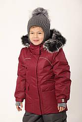 Куртка парку зимова Бордо