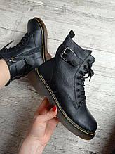 Зимние ботинки из натуральной кожи на меху