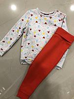 Утеплённый костюм 2-ка для девочки Lupilu ( на рост 86/92 см )
