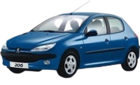Защита двигателя и КПП для Peugeot (Пежо) 206 1998-2009
