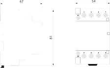 Модульный магнитный пускатель MCF3 40-31 230V, фото 2