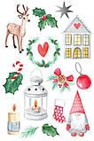 Вафельная картинка З Новим Роком | Новогодние вафельные картинки | С Новым Годом вафельна картинка Формат А4, фото 3