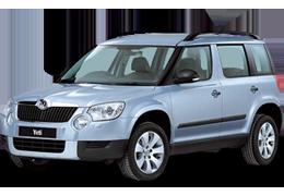Защита двигателя и КПП для Skoda (Шкода) Yeti 2009-2017