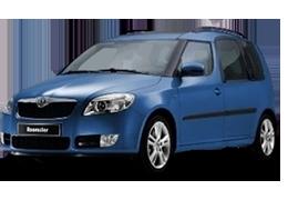 Защита двигателя и КПП для Skoda (Шкода) Roomster 2006-2015