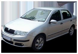 Защита двигателя и КПП для Skoda (Шкода) Fabia MK1 1999-2007
