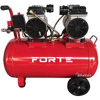 Компрессор 50л, 1.8 кВт, воздушный, безмасляный, Forte COF-2/50 (104092)