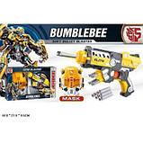 Ігровий набір SHANTOU Transformers бластер з поролоновими набоями та маскою, в коробці 45-27,5-9,5 см, фото 3