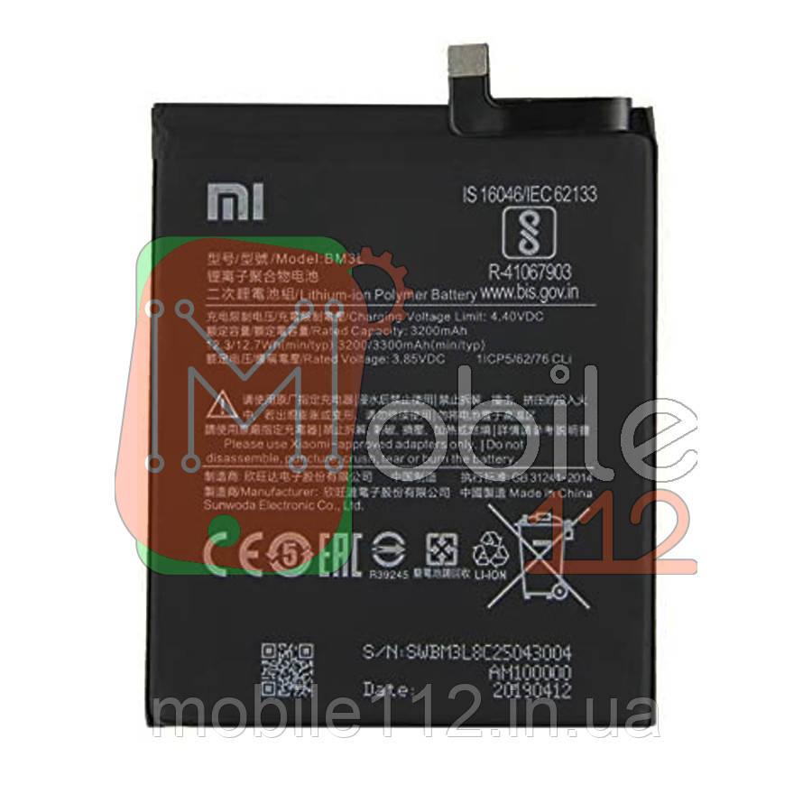 Аккумулятор (АКБ батарея) Xiaomi BM3L оригинал Китай Mi 9 Mi9 M1902F1G 3300 mAh