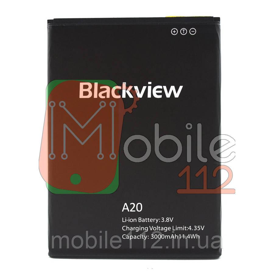 Аккумулятор (АКБ батарея) Blackview A20, A20 Pro оригинал Китай 3000 mAh