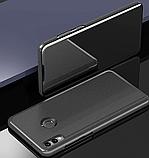 Комплект скло на дисплей + Дзеркальний розумний Smart чохол-книжка для Huawei Honor 8X / Скла /, фото 7