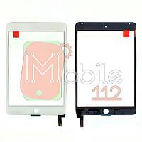 Сенсор (тачскрин) Apple iPad Mini 4 A1538 A1550 белый оригинал Китай