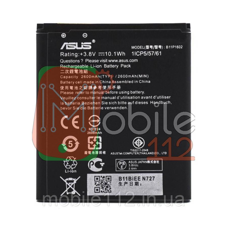 Аккумулятор (АКБ батарея) Asus B11P1602 оригинал Китай ZenFone Go ZB500KL, ZB500KG X00BD, ZenFone Live ZB501KL