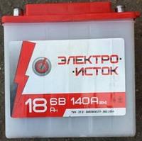 Аккамулятор 6V 18А МОТО МТ ИЖ Электро-исток 140x75x140