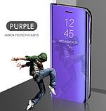 Комплект скло на камеру + Дзеркальний Smart чохол-книжка Mirror для Xiaomi Mi Note 10 / Mi Note Pro 10 /, фото 7