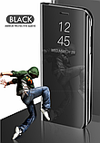 Комплект скло на камеру + Дзеркальний Smart чохол-книжка Mirror для Xiaomi Mi Note 10 / Mi Note Pro 10 /, фото 9