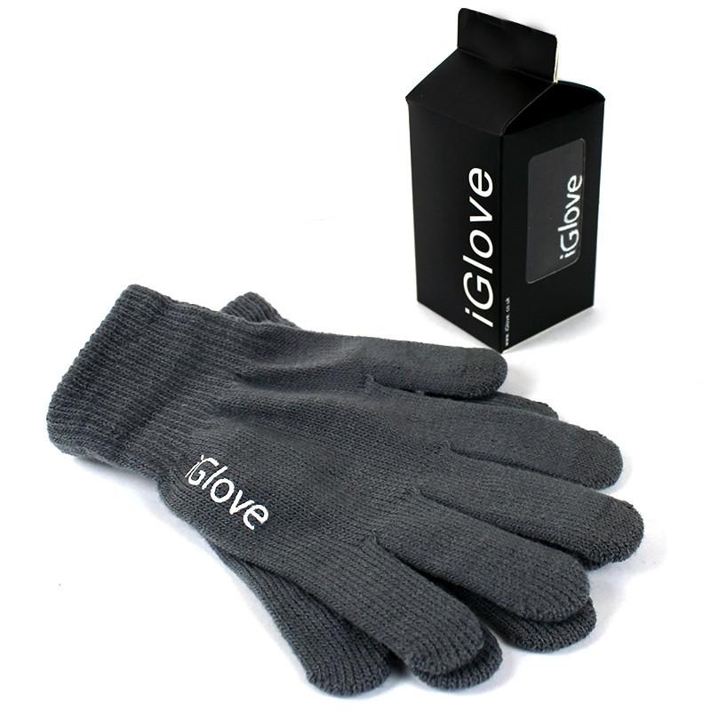 Перчатки iGlove для сенсорных экранов серые