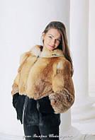 Куртка из лисы и нутрии