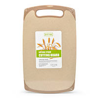 Доска разделочная Эко 24*40см з пшеничной шелухи