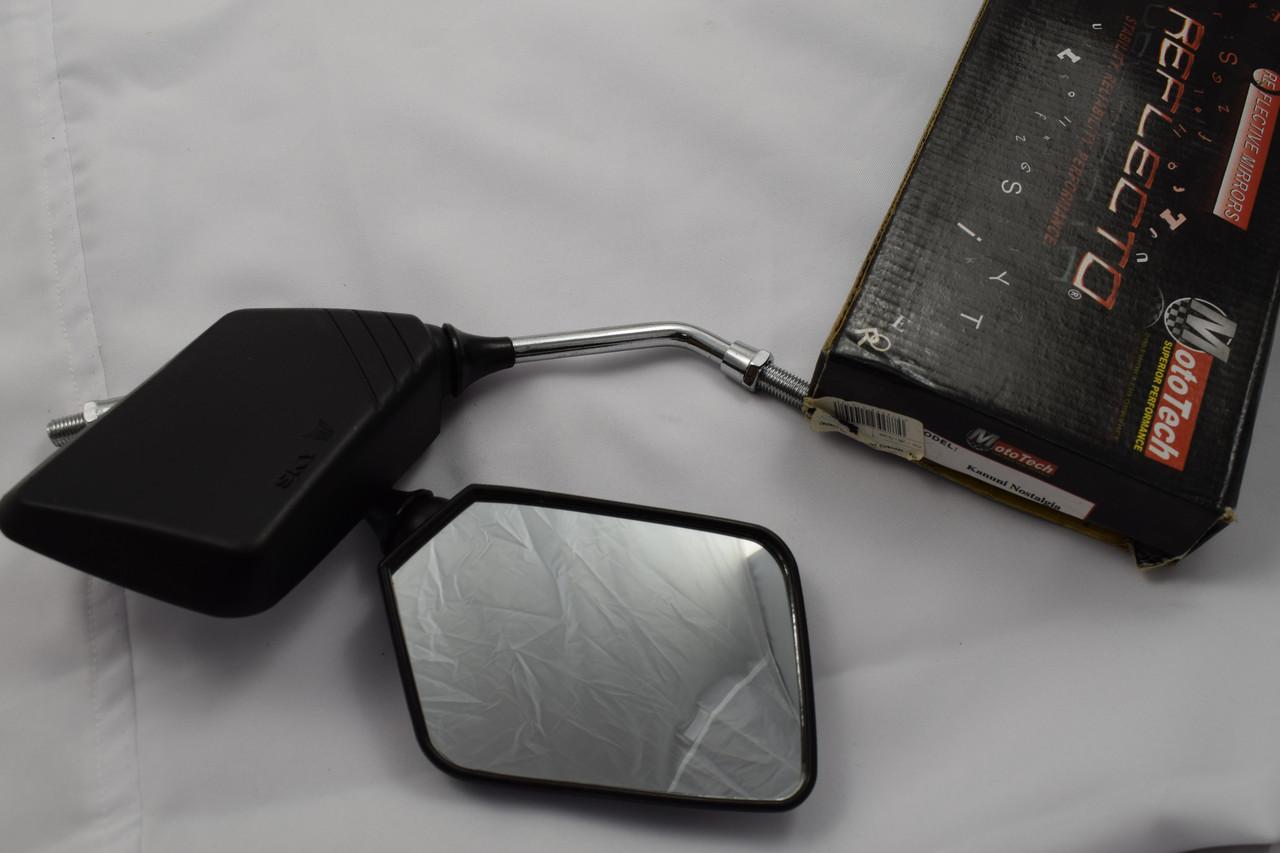Зеркала для мопеда Delta Alpha 8 мм квадратные
