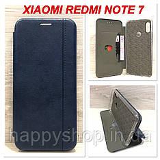 Чехол-книжка Gelius Leather для Xiaomi Redmi Note 7 (Синий)