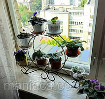 Карета-3, подставка для цветов на 8 чаш