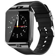Смарт часы Smart Watch DZ09, Sim card + камера, black