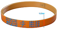 Ремінь слайсера TB2-330 / H-16 мм / 7 струмків (універсальний), фото 1