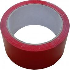 Скотч упаковочный красный 48 мм х 66 м