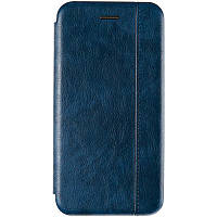 Чехол книжка Gelius Leather Book для Xiaomi Redmi Note 9 Blue